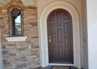Entry doors (12)